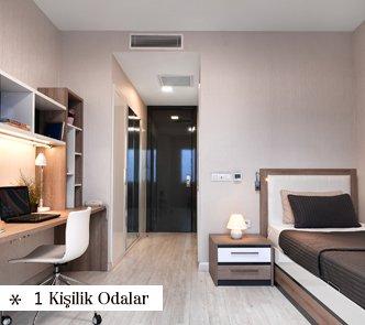 Istanbul Student Hostel 1 Kisilik Oda
